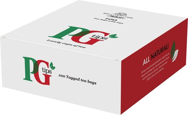 PG Tips Tagged Tea Bags