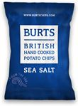 Burts Sea Salt crisps